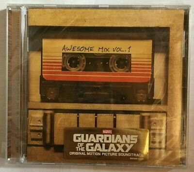 Marvel Guardians of the Galaxy: Awsome Mix Vol.1  CD Soundtrack NEW & Sealed