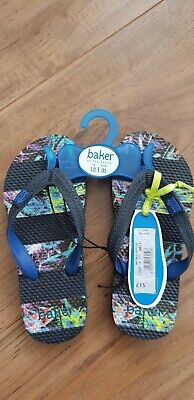 Ted Baker Boys Flip Flop Sandals Size 12 NWT