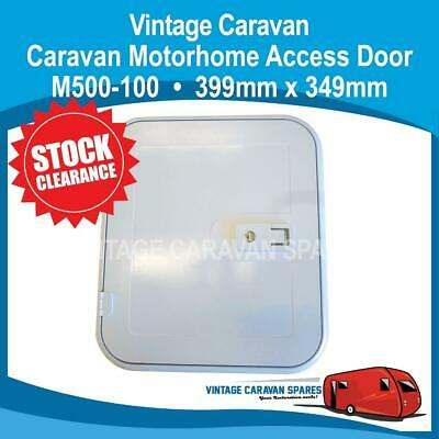 Caravan ACCESS DOOR WHITE • 399mm x 349mm • Clearance  • CB0210