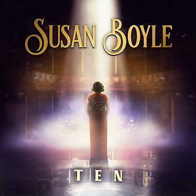 SUSAN BOYLE - Ten - New CD Album - Released 31/05/2019