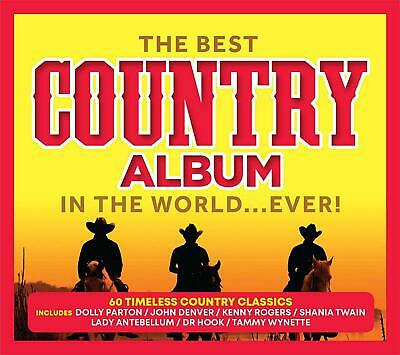 The Best Country Album In The World...Ever! - New 3CD - Released 31/05/2019