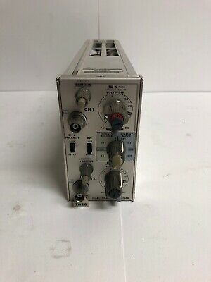 Tektronix 7A26 Dual Trace Amplifier Plug-In For 7000 Series Oscilloscope