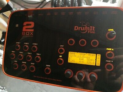 Sounds and kits upgrade for 2Box DrumIt (5 or 3)