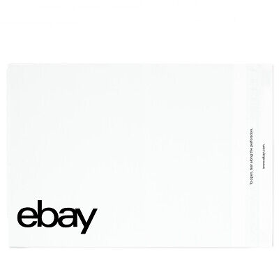 "eBay-Branded Polymailer With Black Print 14.5"" x 18.5"" (No padding)"