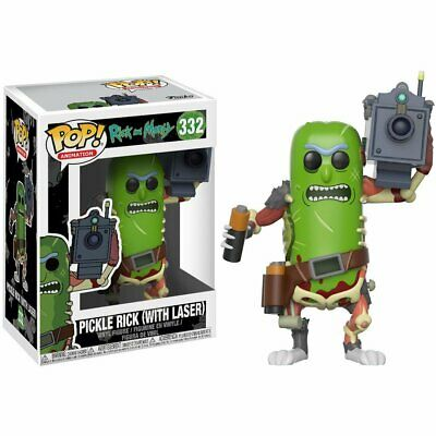Rick and Morty #332 - Pickle Rick with Laser -  Funko Pop! Animation - Brand New