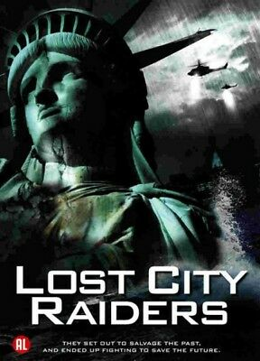 Lost City Raiders (the Secret World Cup Swallowed up) DVD Box Set Sealed / New