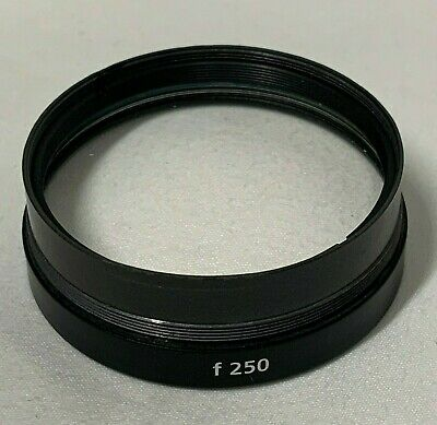 Carl Zeiss f 250 Surgical Microscope Objective Lens