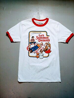 Lets Summon Demons Funny Activities For Children Hanes Tagless Tee