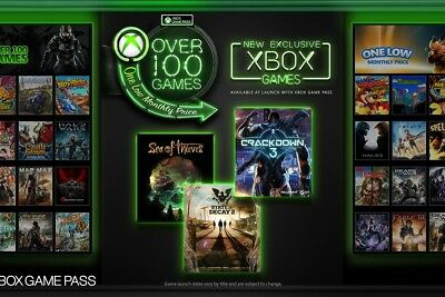 Xbox Game Pass 6 Month Digital Code.