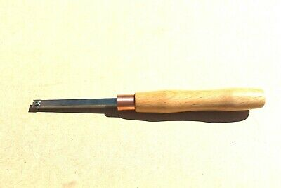 Carbide woodturning chisel, tool,12mm square,pen turning 31cm long o/all,New.