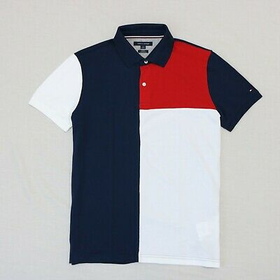 6ec6d89c Tommy Hilfiger Men short sleeve Slim fit Polo shirt size L , XL new with tag