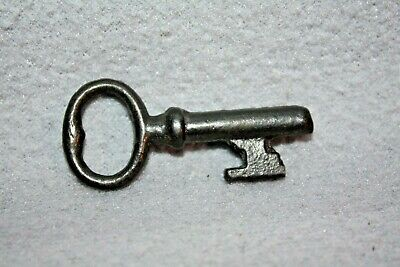 Antique Cast Iron Barrel Key Skeleton Door Church Jail Prison Castle, Gate #4