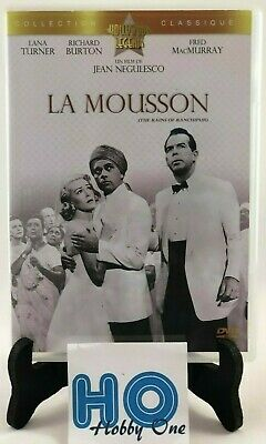 DVD - La mousson (The rain of Ranchipur) - Lana TURNER / Richard BURTON - TBE