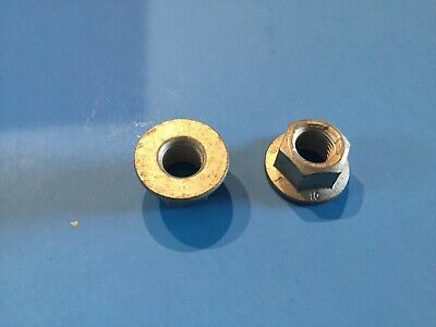GM Hex Flange Nuts Pack of 5 Prevailing Torque Nut New OEM M10 X 1.50 03537772