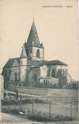 CPA - France - (51) Marne - Sommes Suippes - Eglise
