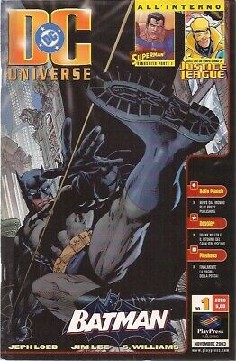Dc Universe 1 Edizione Play Press