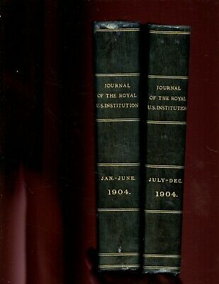 Journal of the Royal United Service Institution, vol - 48,  1904 , 2  vol. ,1st