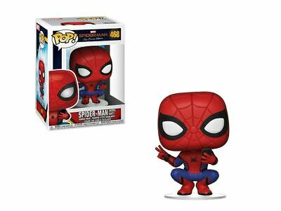 Funko Pop! Marvel: Spider-Man Far from Home - Spider-Man Hero Suit with phone