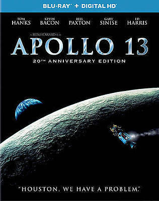 Apollo 13 [Blu-ray] DVD, Mary Kate Schellhardt, Ed Harris, Bill Paxton, Kevin Ba