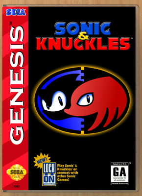 Sonic & Knuckles - SEGA Genesis - Replacement Case *NO GAME*