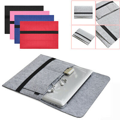 Cover Laptop Bag Sleeve Case Notebook Pouch For MacBook Air Pro Retina 11 13 15