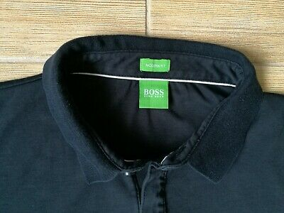 099d6475d HUGO BOSS MENS Polo Shirt Green Label XL MODERN FIT WHITE - $29.99 ...