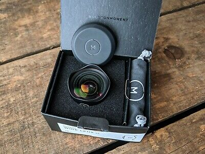 Moment 18mm V2 wide angle lens - NEW in box with sample images