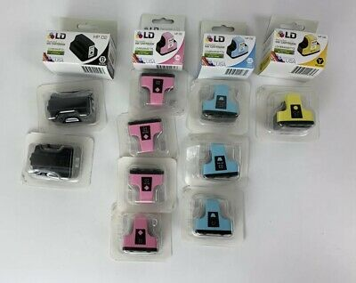 HP 02 Ink Cartridges Lot Of 14