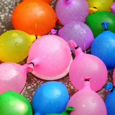 Kids toy Water Balloons Bombs Summer Party Fun Toys Self Tying Fast Fill 111pcs