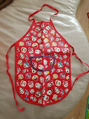 Children Kids Chef Apron painting Arts Crafts Baking Cooking Clown Print