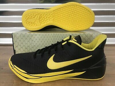 9057c4d0a061 Nike Kobe A.D. Basketball Shoes  Oregon  Black Yellow Strike SZ ( 922026-001