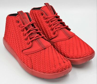 official photos 3f665 90a96 JORDAN Eclipse Men s Chukka Basketball Shoe - Gym Red   Black - NEW  Authentic