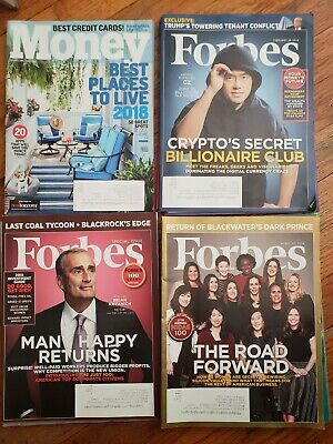 FORBES Magazine Lot 10 Special Issues Worlds Richest People 100 Years Innovators