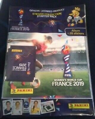 Panini Fifa Womens World Cup France 2019 Starter Pack Album or Album.