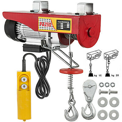 Scaffold Winch Electric Hoist Lifting 250KG 40ft Heavy Equipment  Durable
