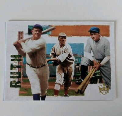 BABE RUTH (Yankees) 2019 PANINI DIAMOND KINGS RUTH COLLECTION CL CARD #BR4