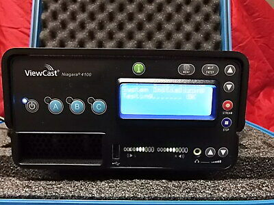 ViewCast Niagara 4100 HD-SDI H.264, MPEG-4, Apple, H.263 Encoder Video Steamer