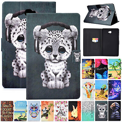 For Samsung Galaxy Tab A 10.1 2019 SM-T510 T515 Wallet Leather Smart Cover Case
