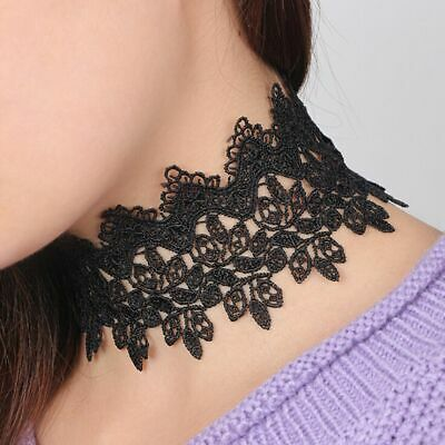 Sexy Hollow Out Vintage Romantic Collar Jewelry Choker Lace Necklace