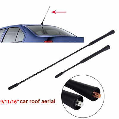9''/11''/16''  AM/FM Screw Car Antenna Modified Antenna Auto Roof  Aluminum