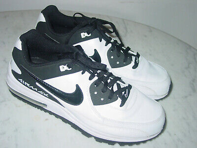 sports shoes e0267 f5060 2012 Mens Nike Air Max Wright Black White Running Shoes! Size 10.5 Sold As