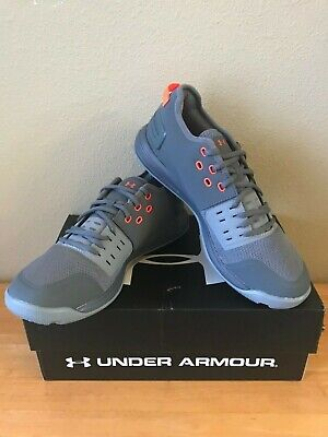 timeless design 5e68f db6f0 Men s Under Armour Charged Ultimate 3.0 Training Shoe - Gray Orange