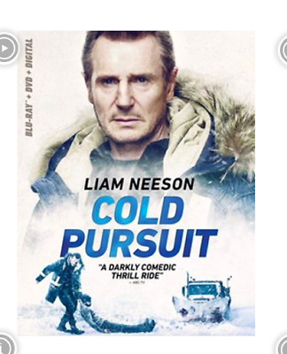 Cold Pursuit Blu Ray & DVD 2 Disc Set Action Movie Lia Neeson Comedy Drama