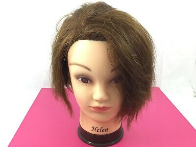 FEMALE MANNEQUIN HEAD Styling Head with Human Hair