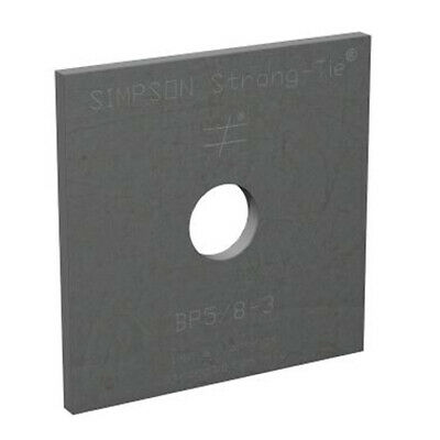 """Simpson Strong-Tie BP-5/8-3 5/8"""" Bolt Dia. 3"""" x 3"""" Bearing Plate"""