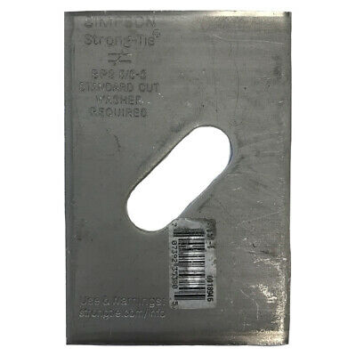"""Simpson Strong-Tie BPS-5/8-6 5/8"""" Bolt Dia. 3"""" x 4-1/2"""" Bearing Plate Slotted"""
