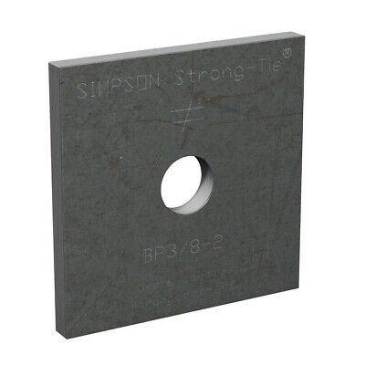 """Simpson Strong-Tie BP-3/8-2 3/8"""" Bolt Dia. 2"""" x 2"""" Bearing Plate"""