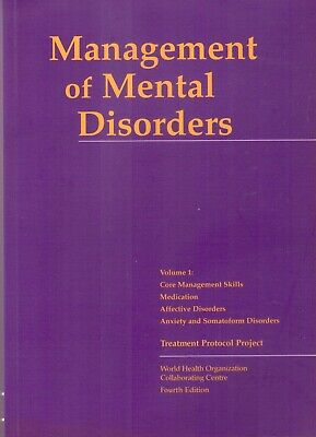 Management of MENTAL DISORDERS: TWO volumes - 4e