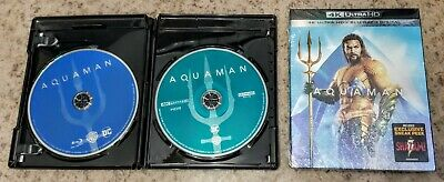 Pick Only 1 Aquaman 4K Uhd Disc Or Bluray Disc Or Slip Cover No Case
