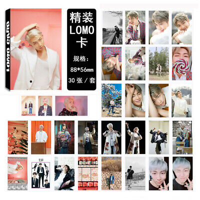 Kpop 30pc/set BTS Map of The Soul Paper Lomo Card Jimin Suga Photocard Poster
